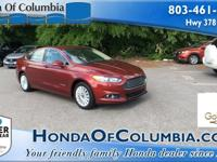 2014 Ford Fusion Hybrid SE 2.0L I4 Atkinson-Cycle