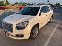 White Diamond Clearcoat 2014 GMC Acadia Denali FWD