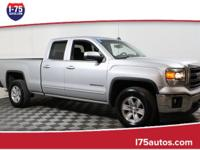 Silver 2014 GMC Sierra 1500 SLE RWD 6-Speed Automatic