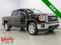 2014 GMC Sierra 1500 SLE Black 4X4, Back Up Camera,