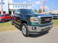 Emerald Green Metallic 2014 GMC Sierra 1500 SLT 4WD