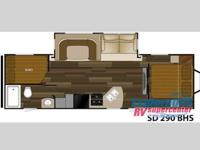 USED 2014 HEARTLAND SUNDANCE 290BHS - FIFTH WHEEL