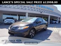 Clean CARFAX.2014 Honda Civic EX Kona Coffee Metallic