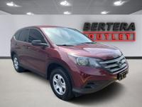 2014 Honda CR-V Basque Red Pearl II LX Rear Backup