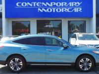 Mountain Air Metallic 2014 Honda Crosstour EX-L 4WD
