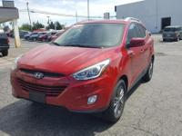 2014 Garnet Red Hyundai Tucson SE AWD 6-Speed Automatic