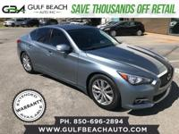 Fully Loaded 2014 Infiniti Q50 Premium RWD, V6, 3.7