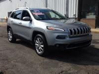 Jeep 2014 Cherokee Limited 4WD 9-Speed 948TE Automatic