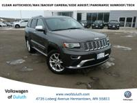 Recent Arrival! 2014 Jeep Grand Cherokee Summit 4D