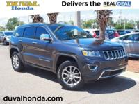 This 2014 Jeep Grand Cherokee Limited in steel metallic