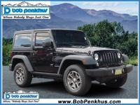 Step up to maximum fun in our 2014 Jeep Wrangler