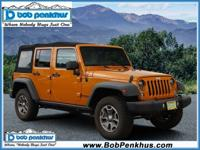 Take a look at our 2014 Jeep Wrangler Unlimited Rubicon