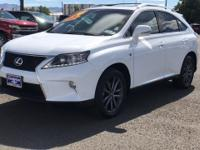 CARFAX One-Owner. Clean CARFAX. White 2014 Lexus RX 350