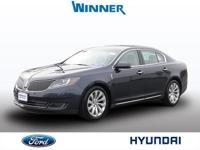 2014 Lincoln MKS Base Blue Clean Car Fax, Navigation,