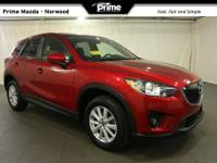2014 Mazda CX-5 Touring in Red Metallic, Bluetooth Hand