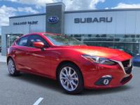 Used 2014 Mazda Mazda3 s. CARFAX One-Owner. soul red