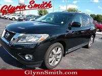 This 2014 Nissan Pathfinder Platinum includes a backup
