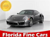 BBB Accredited A+, AWD. Gray 2014 Porsche 911 Turbo S