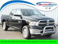 Black Clearcoat 2014 Ram 1500 Big Horn 4WD 8-Speed