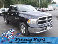 This Ram 1500 is well equipped and includes the
