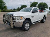 CARFAX One-Owner.White 2014 Ram 2500 Tradesman 4WD