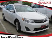 We are excited to offer this 2014 Toyota Camry. You
