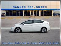 Super White 2014 Toyota Prius Four 5D Hatchback FWD CVT