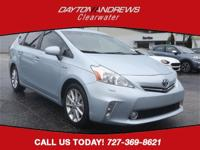 This 2014 Toyota Prius v Five in Clear Sky Metallic