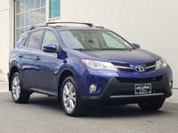 2014 Toyota RAV4 Limited Blue CARFAX One-Owner.