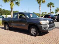 Magnetic Gray Metallic 2014 Toyota Tacoma RWD 4-Speed