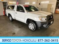 Check out this gently-used 2014 Toyota Tacoma we