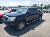 Black 2014 Toyota Tacoma V6 4WD 5-Speed Automatic 4.0L