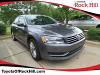 We are excited to offer this 2014 Volkswagen Passat.