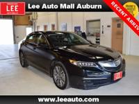2015 Acura TLX 3.5L V6 Black Bluetooth, Hands free