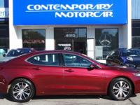 2015 Acura TLX 2.4L w/Technology Package Red Odometer
