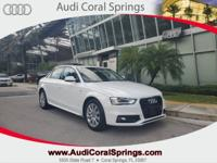 2015 Audi A4 2.0T Premium FrontTrak Bluetooth, Heated