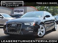 **WE FINANCE**2015 AUDI A5 PREMIUM**ONE OWNER**BACK-UP