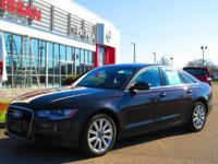 We are excited to offer this 2015 Audi A6. When you