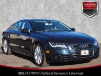 Moonlight Blue Metallic 2015 Audi A7 3.0T Premium Plus