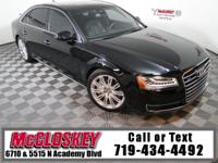 Ride in style in this 2015 Audi A8L 3.0 TDI All Wheel