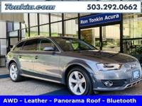One Owner 2015 Audi allroad Premium Wagon, Gray, AWD,