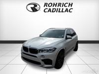 2015 BMW X5 M Alpine White Highlights Include...,