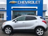 Quicksilver Metallic 2015 Buick Encore FWD 6-Speed
