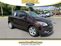 Practical and classy 2015 Buick Encore Leather in Deep