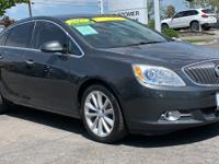 Gray 2015 Buick Verano Convenience Group FWD 6-Speed