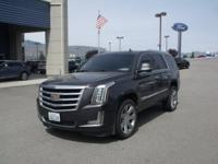 Gray 2015 Cadillac Escalade Luxury 4WD Automatic Vortec