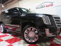 CARFAX One-Owner. Clean CARFAX.Black 2015 Cadillac