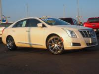 CARFAX One-Owner. Clean CARFAX. White 2015 Cadillac XTS