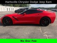 CARFAX One-Owner. Clean CARFAX. 2015 Chevrolet Corvette