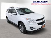 CARFAX One-Owner. Summit White 2015 Chevrolet Equinox